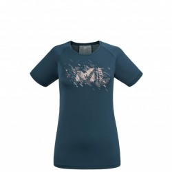 Millet LTK PRINT LIGHT TS SS W orion blue