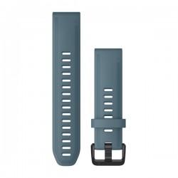 Garmin Cinturini e bracciali QuickFit® 20  LAKESIDE BLUE SILICONE
