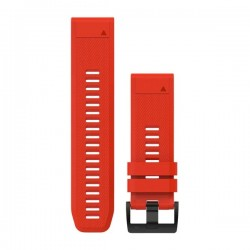 GARMIN  QuickFit® 26 Watch Bands Silicone, Flame Red