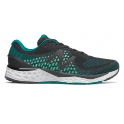 New Balance 880v10 Black with Team Teal & Lime Glo