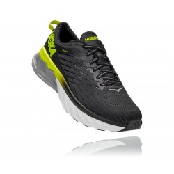 Hoka UOMO ARAHI 4 BLACK / EVENING PRIMROSE