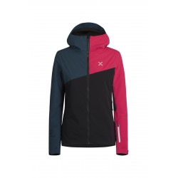 Montura SKI COLOR JACKET WOMAN nero/blu cenere