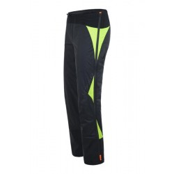 Montura SKI RACE PRO COVER PANTS NERO/GIALLO FLUO