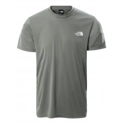 The North Face T-SHIRT REAXION RED BOX AGAVE GREEN