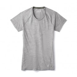 Smartwool Women's Merino 150 Baselayer Short Sleeve light gray heather