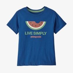 Patagonia Baby Live Simply® Organic Cotton T-Shirt Live Simply Melon: Saffron