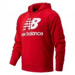 New Balance Felpa con cappuccio NB Essentials Stacked Logo Po