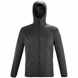 Millet Men's softshell jacket - black REPERCUTE AIR HOODIE M BLACK