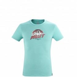 Millet  Men's tee-shirt - blue LIMITED COLORS TS SS M