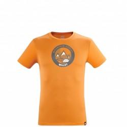 Millet  Men's tee-shirt - orange DREAMY PEAKS TS SS M